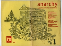 To περιοδικό Journal of Anarchist Thought της δεκαετίας 1960
